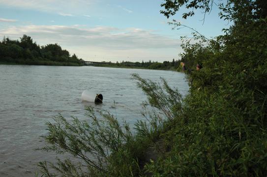 Laurent Louyer, last seen fishing for rain barrels...