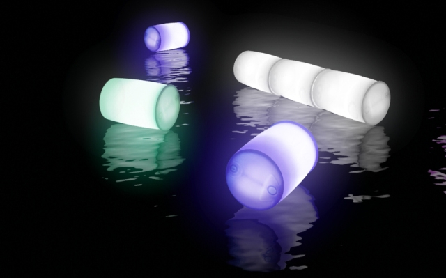 River of Light 2013 – Render of Light Barrels on Water (render credit: Ooopart)